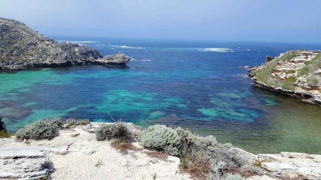 Bucht am Meer